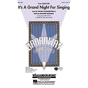 Hal Leonard Its a Grand Night for Singing from State Fair Combo Parts Ar... by Hal Leonard