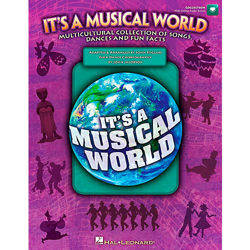 Hal Leonard It's a Musical World - Multicultural Collection of Songs, Dances and Fun Facts Book/CD