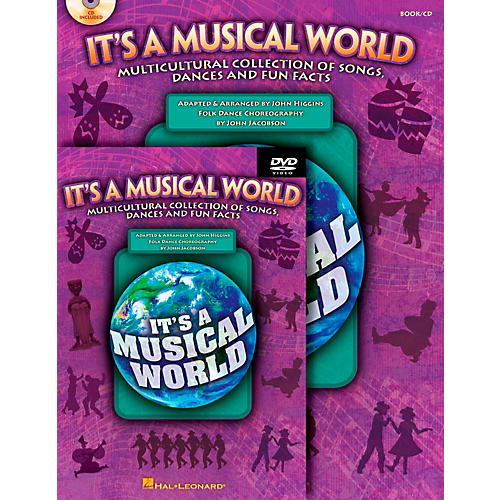 Hal Leonard It's a Musical World - Multicultural Collection of Songs, Dances and Fun Facts Classroom Kit-thumbnail