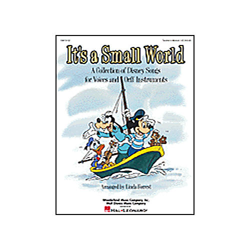 Hal Leonard It's a Small World - Disney for Voices and Orff Classroom Kit-thumbnail