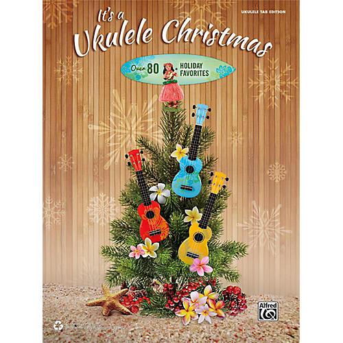 Alfred It's a Ukulele Christmas TAB Book-thumbnail
