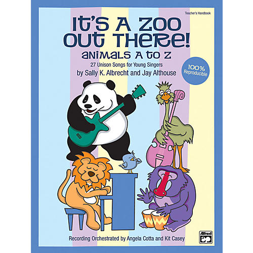 Alfred Its a Zoo Out There! Animals A to Z Book/CD-thumbnail
