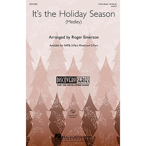Hal Leonard It's the Holiday Season 2-Part Arranged by Roger Emerson