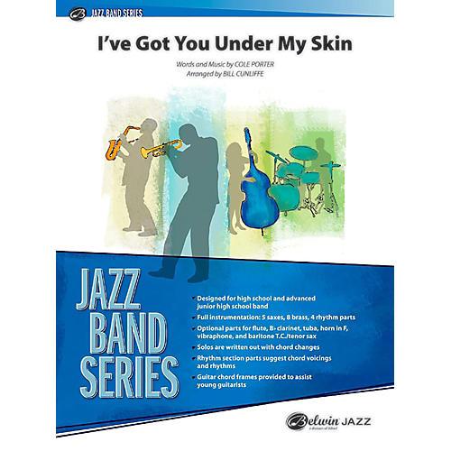 BELWIN I've Got You Under My Skin Jazz Ensemble Grade 3 (Medium)-thumbnail