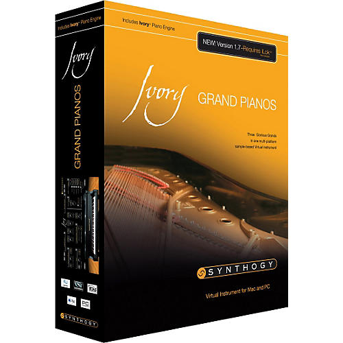 Synthogy Ivory Grand Pianos 1.7 Sample-Based Virtual Instrument