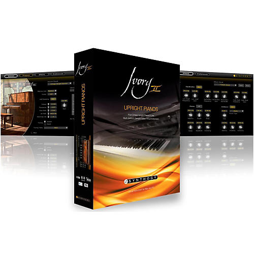Synthogy Ivory II Upright Pianos Software Download