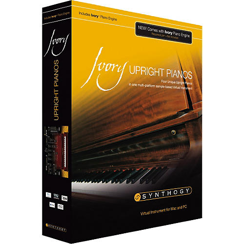 Synthogy Ivory Upright Pianos Virtual Instrument-thumbnail