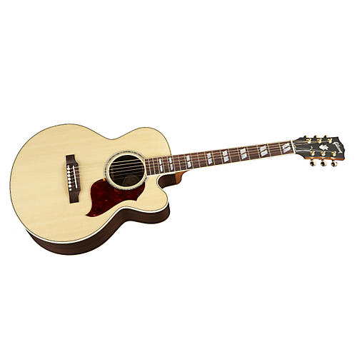 Gibson J-165 EC Acoustic-Electric Guitar Antique Natural Rosewood Fingerboard