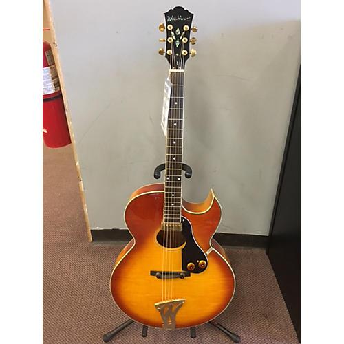 Washburn J-47 HB Hollow Body Electric Guitar-thumbnail