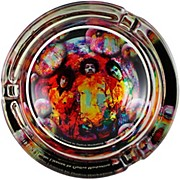 C&D Visionary J.Hendrix Glass Ashtray