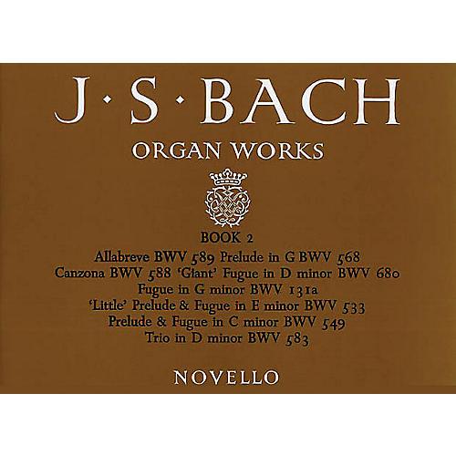 Music Sales J.S. Bach: Organ Works Book 2 Music Sales America Series