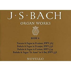 Music Sales J.S. Bach: Organ Works Book 6 Music Sales America Series by Music Sales