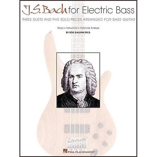 Hal Leonard J.S. Bach for Electric Bass Guitar-thumbnail