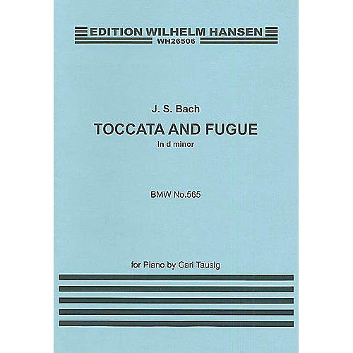 Music Sales J.S.Bach: Toccata And Fugue In D Minor (Piano) Music Sales America Series