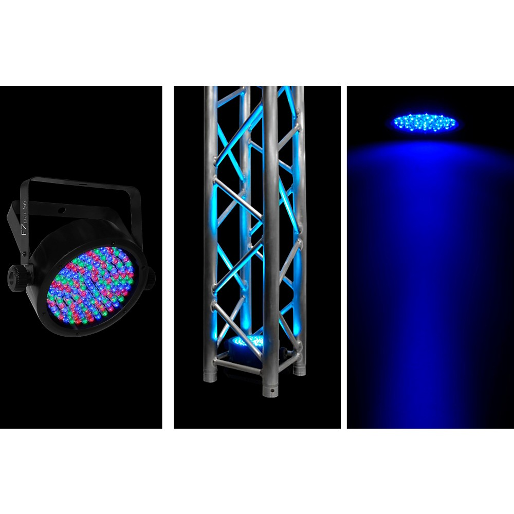 Chauvet DJ EZPAR 56 RGB with IRC Remote 1375800277198