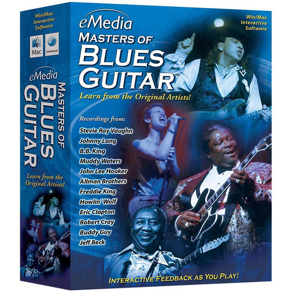 Emedia Master Of Blues Guitar Cdrom 1377190992605