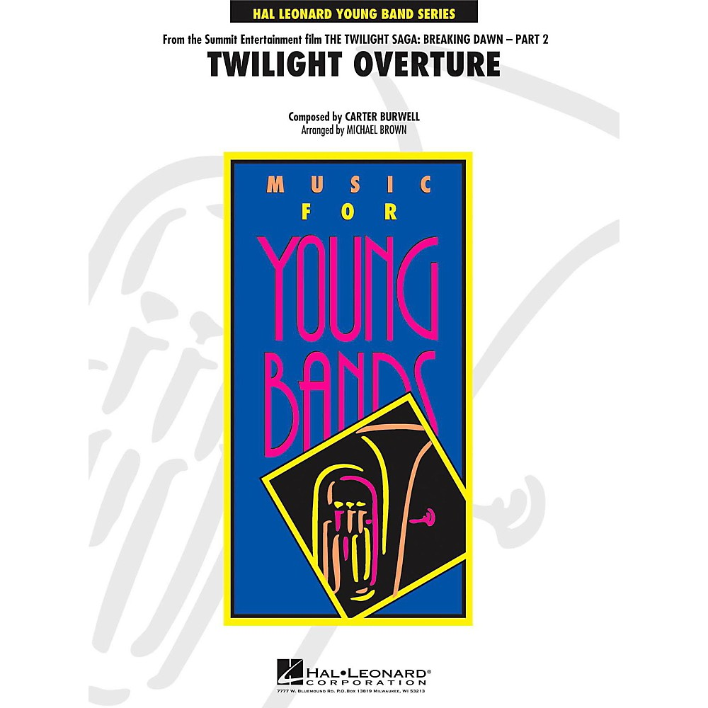 Hal Leonard Twilight Overture (From The Twilight Saga: Breaking Dawn - Part 2) Level 3 1377529980184