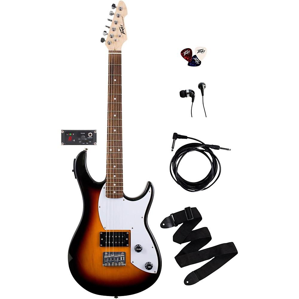 Peavey Rockmaster 5-In-1 Electric Guitar Pack Sunburst 1390232634629