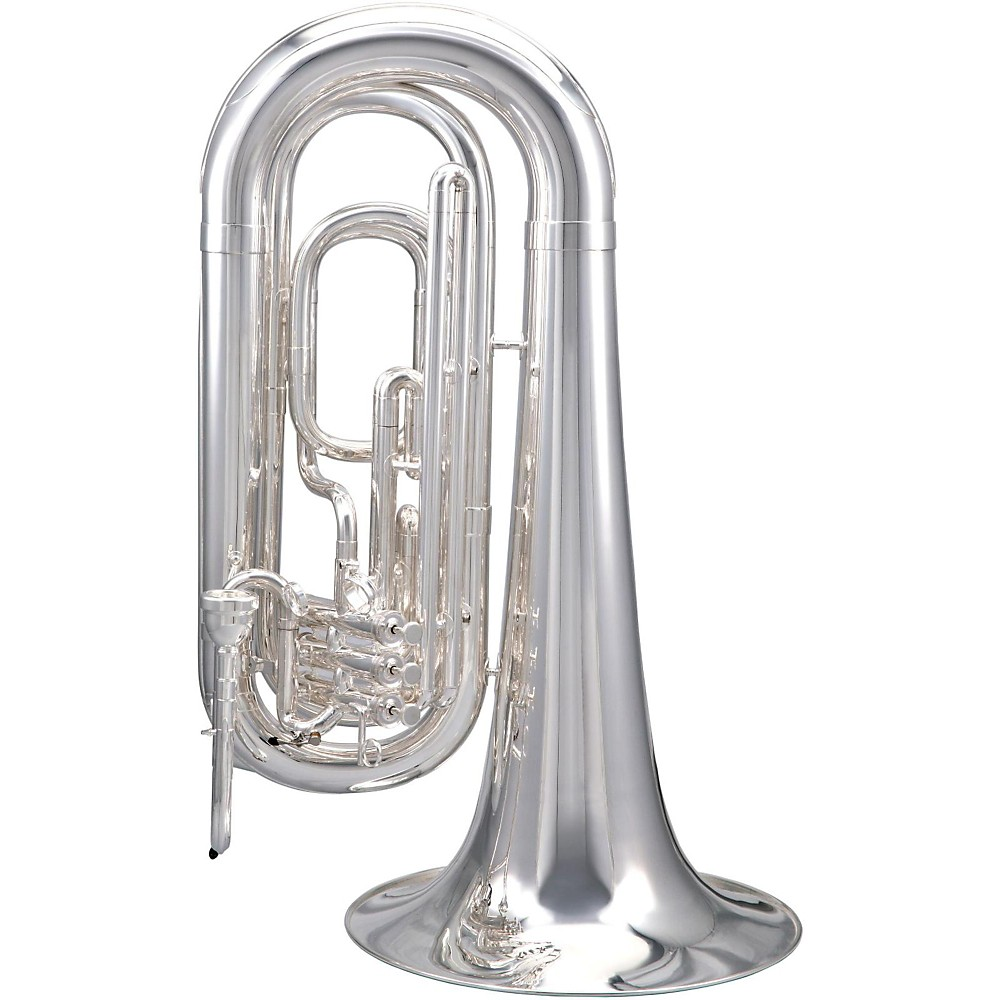 Tama By Kanstul Ktb34 Series 3-Valve 3/4 Marching Bbb Tuba Ktb34s Silver 1382969907055