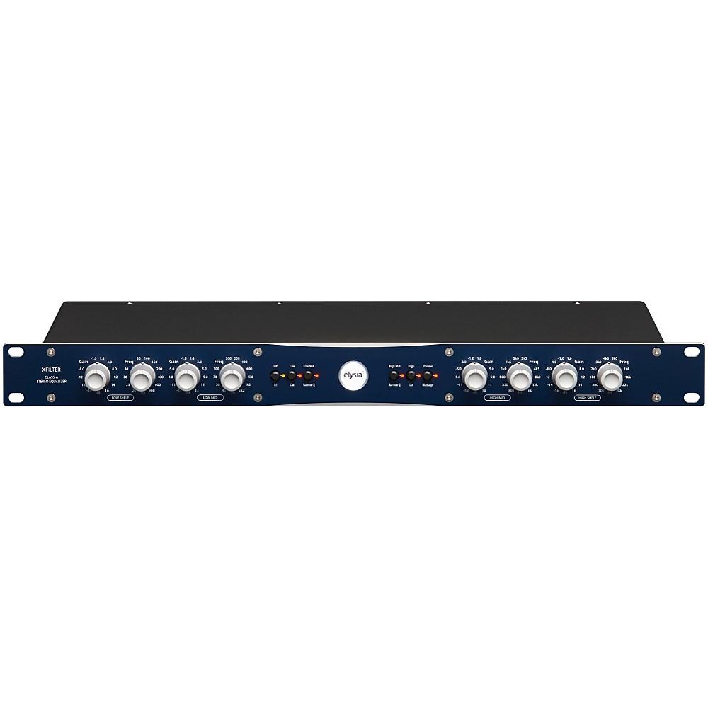 Elysia Xfilter Class A Discrete Stereo Parametric Equalizer 1382969907248
