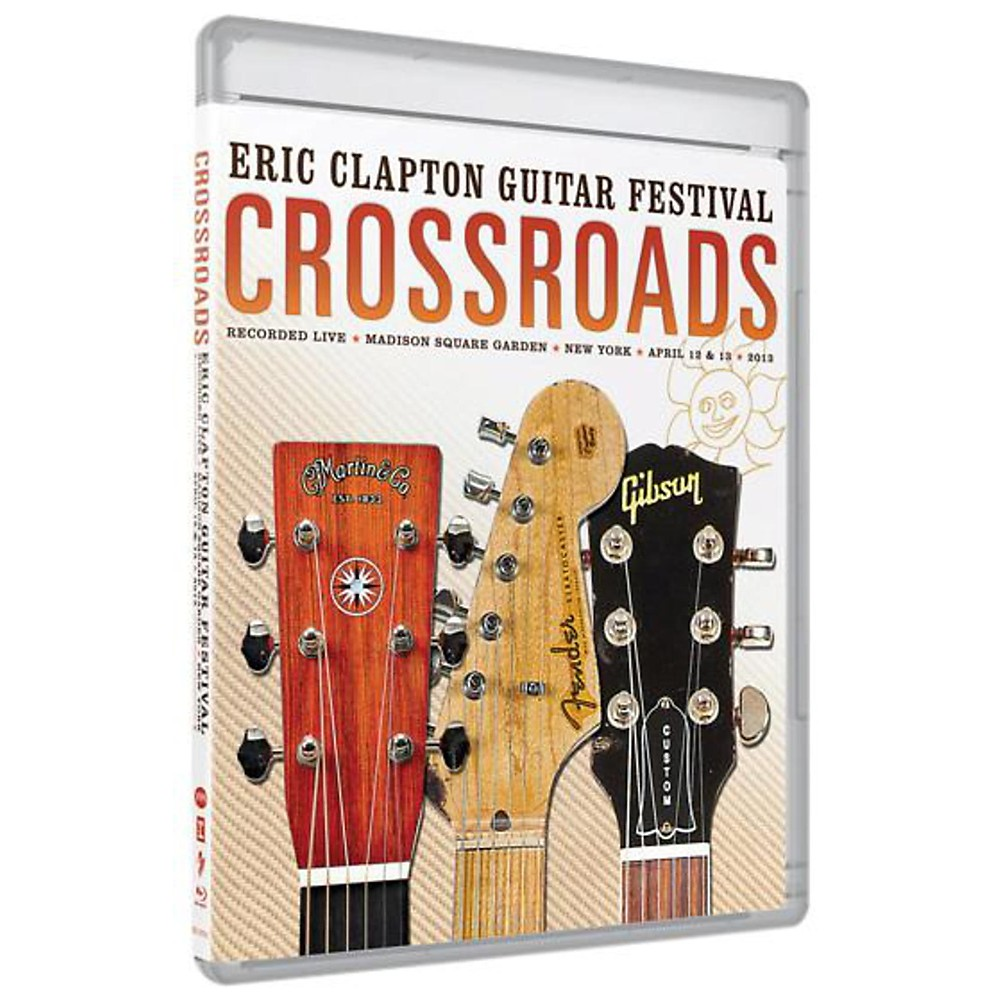WEA Eric Clapton Crossroads Guitar Festival 2013 DVD 1381155000833