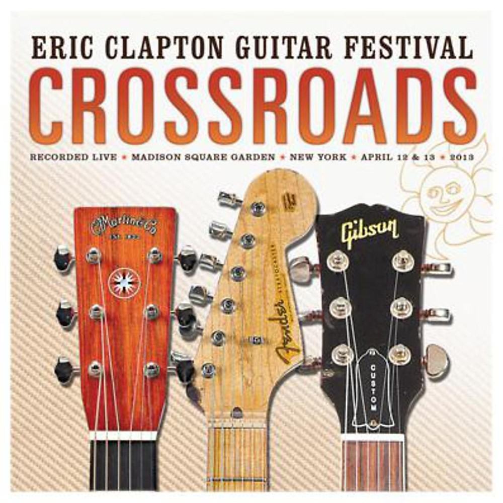 WEA Eric Clapton Crossroads Guitar Festival 2013 CD 1381155000837