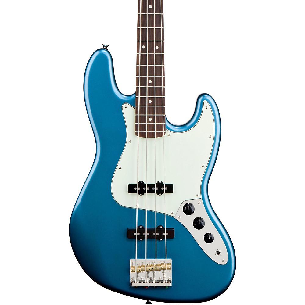 Squier James Johnston Jazz Bass Lake Placid Blue 1386605589647