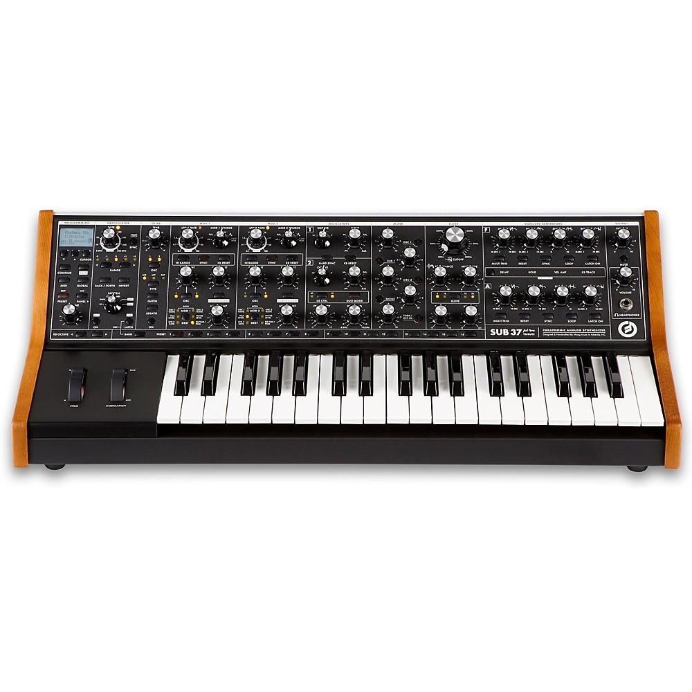 Moog Sub 37 Tribute Edition 1389627461634