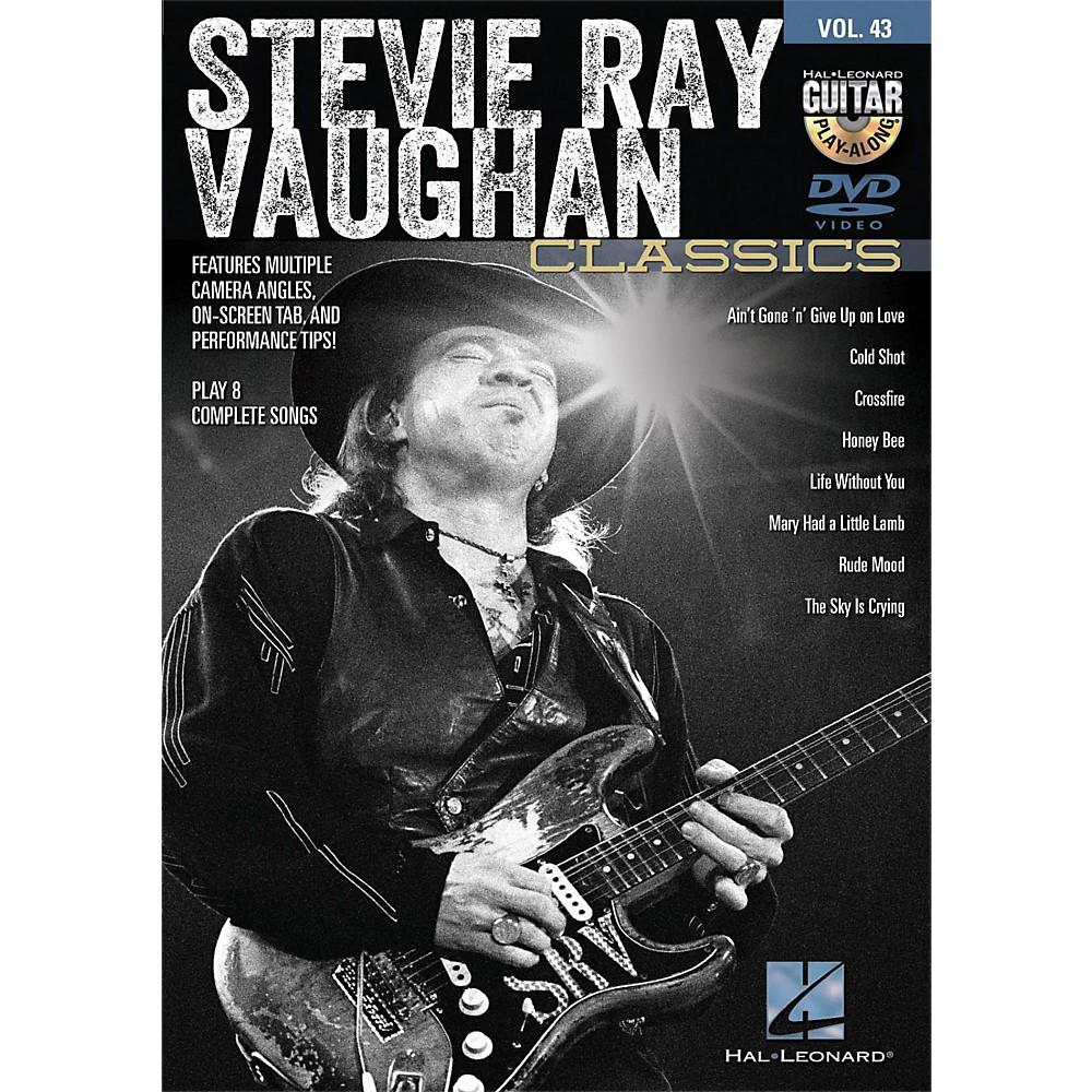 Hal Leonard Stevie Ray Vaughan Classics - Guitar Play-Along DVD Volume 43 1391534732427