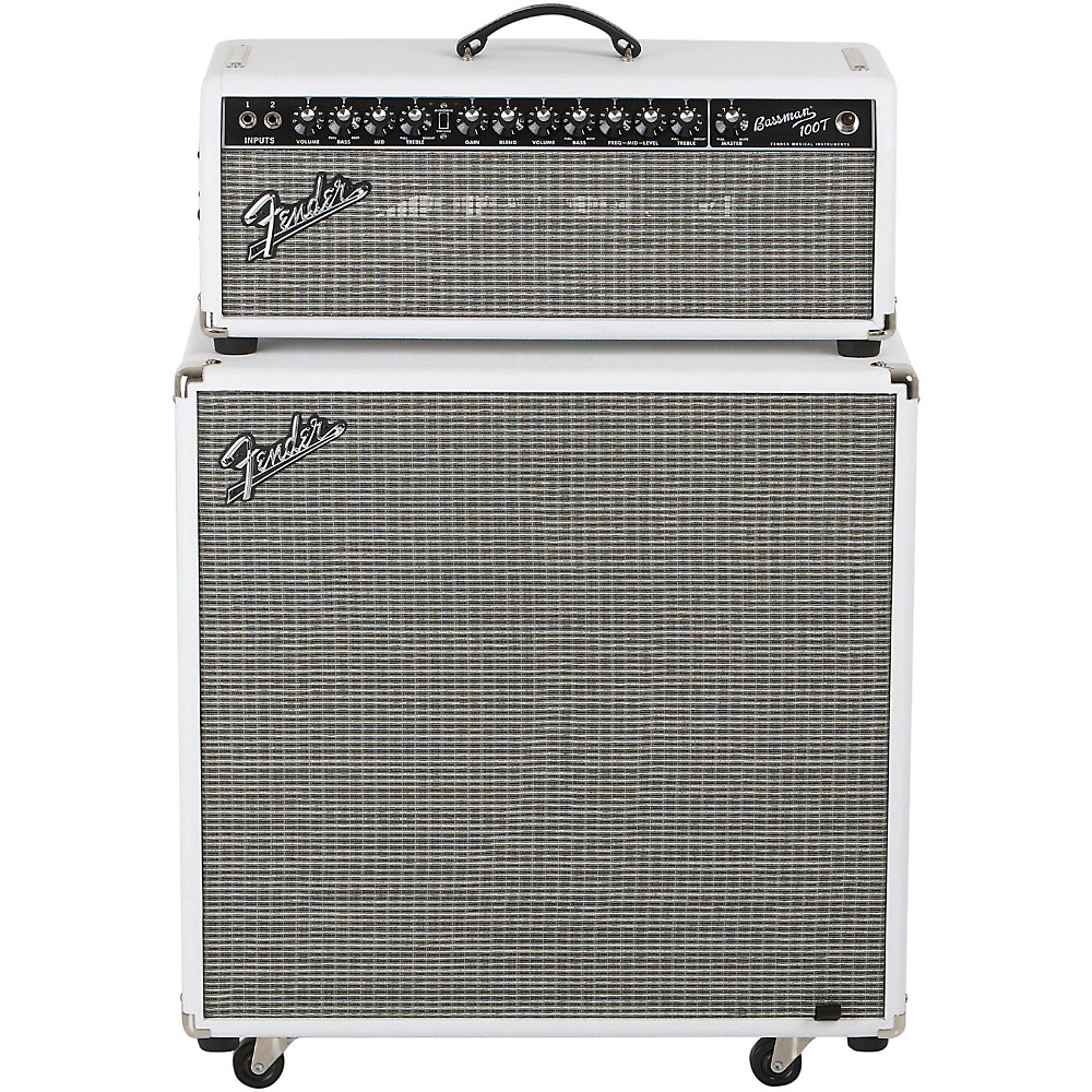 Fender Bassman Pro 100T 100w Tube Bass Head and 4x10 Neo Bass Cab