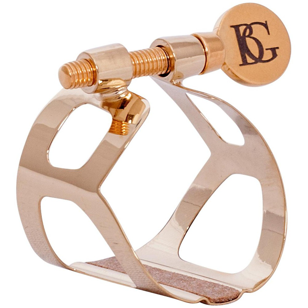 BG Tradition Series Ligature Eb Clarinet, Gold Plated 1393256943579