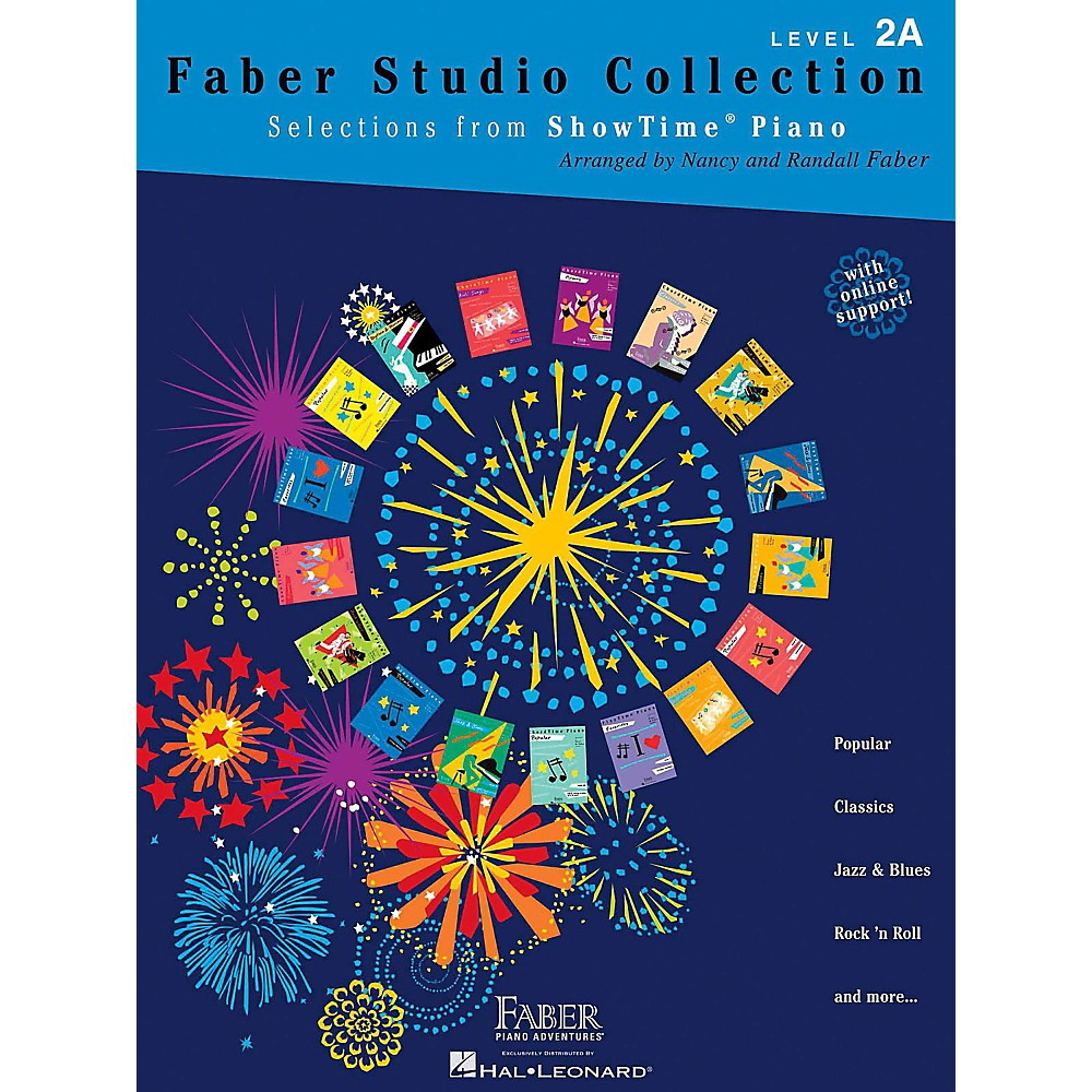 Faber Piano Adventures Faber Studio Collection - Selections from ShowTime Piano Level 2A 1393862853955