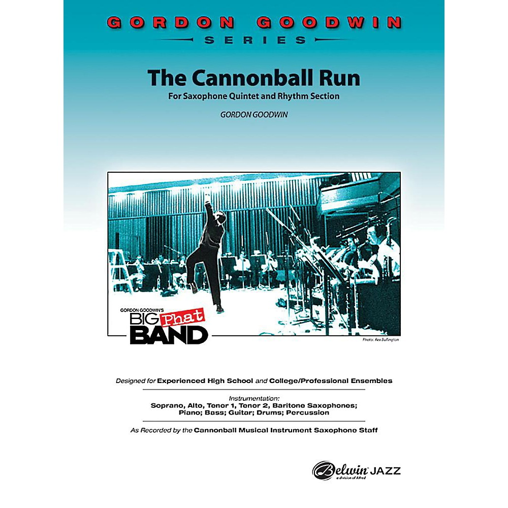 Alfred The Cannonball Run Jazz Band Grade 5 Set 1396278322820