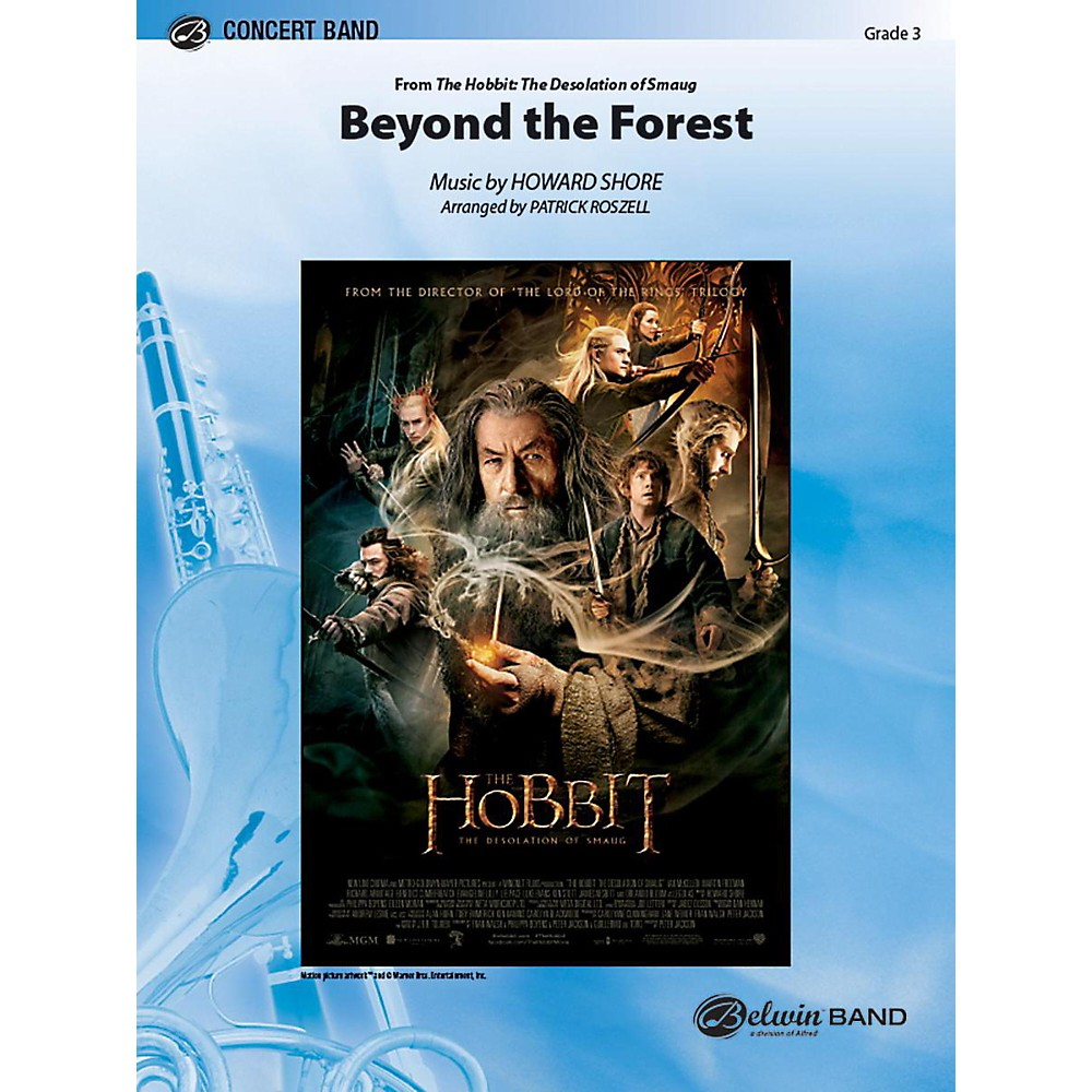 Alfred Beyond the Forest from The Hobbit: The Desolation of Smaug Concert Band Grade 3 Set 1396278323420