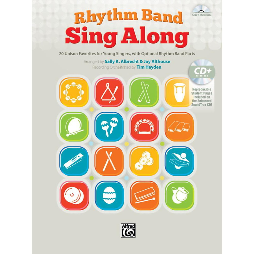 Alfred Rhythm Band Sing Along Book & Cd 1397485965355