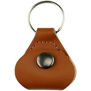Perri's Leather Pick Holder And Key Chain Tan