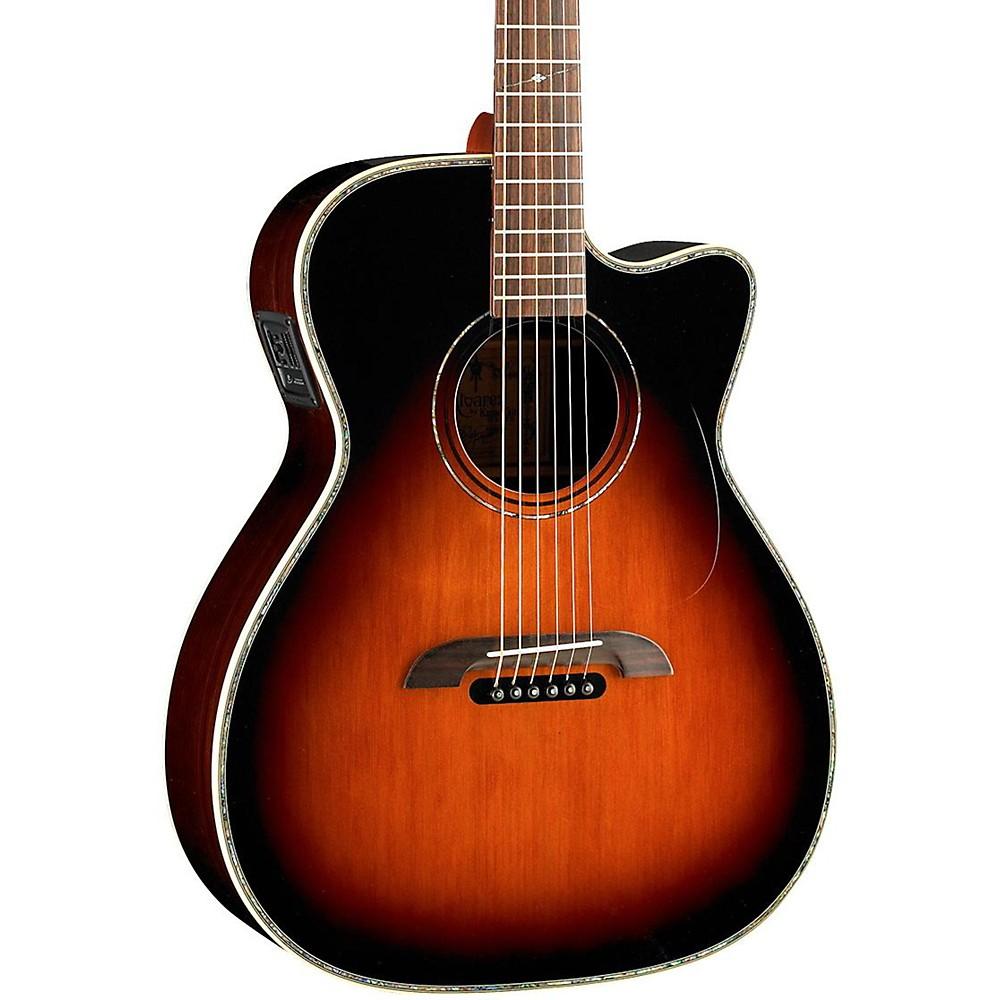 Alvarez Wy1ts Yairi Stage Om/Folk Acoustic-Electric Guitar Natural