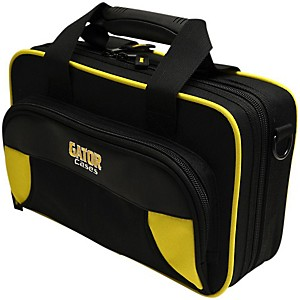 Gator Spirit Series Lightweight Clarinet Case Yellow And Black
