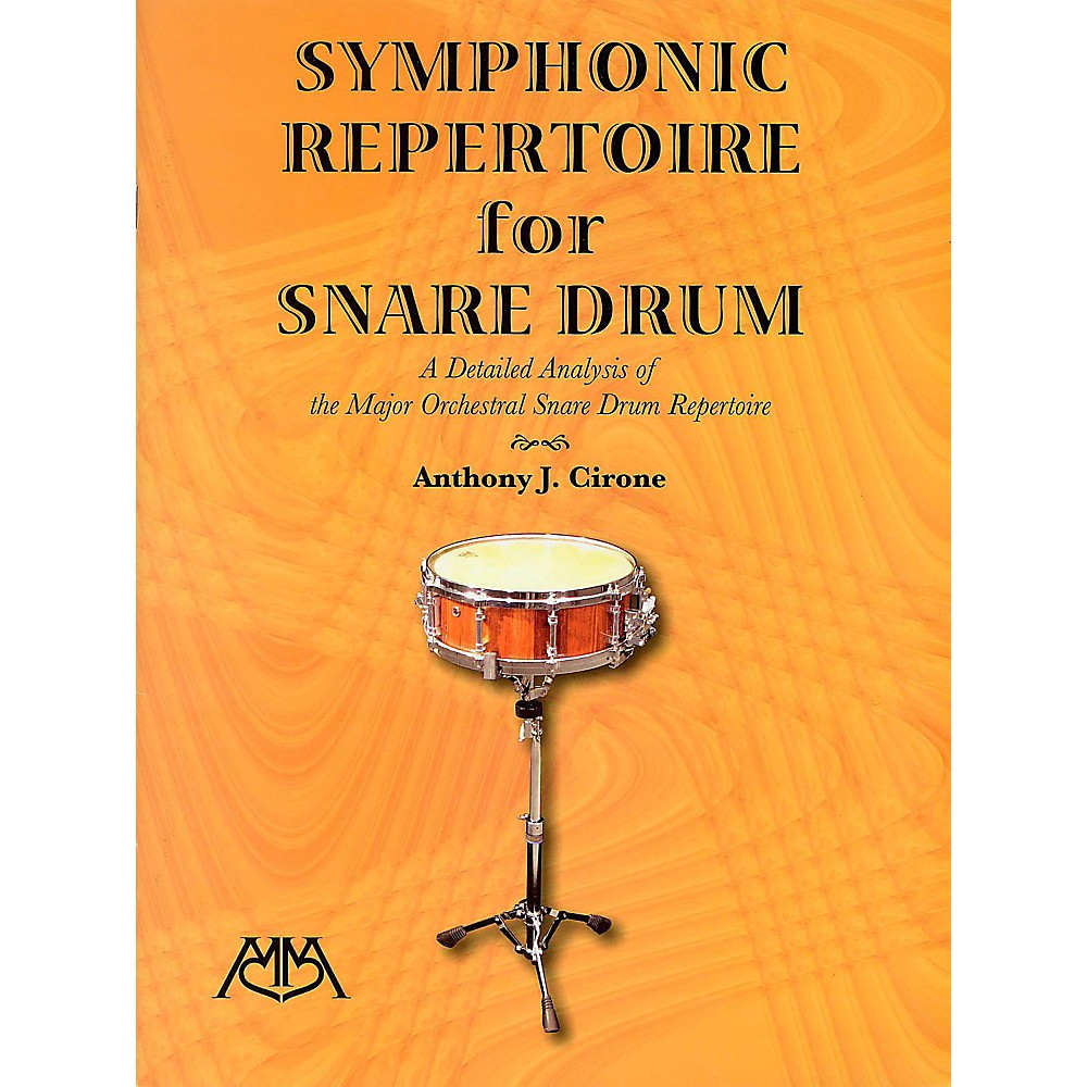 Meredith Music Symphonic Repertoire For Snare Drum 1401322750120