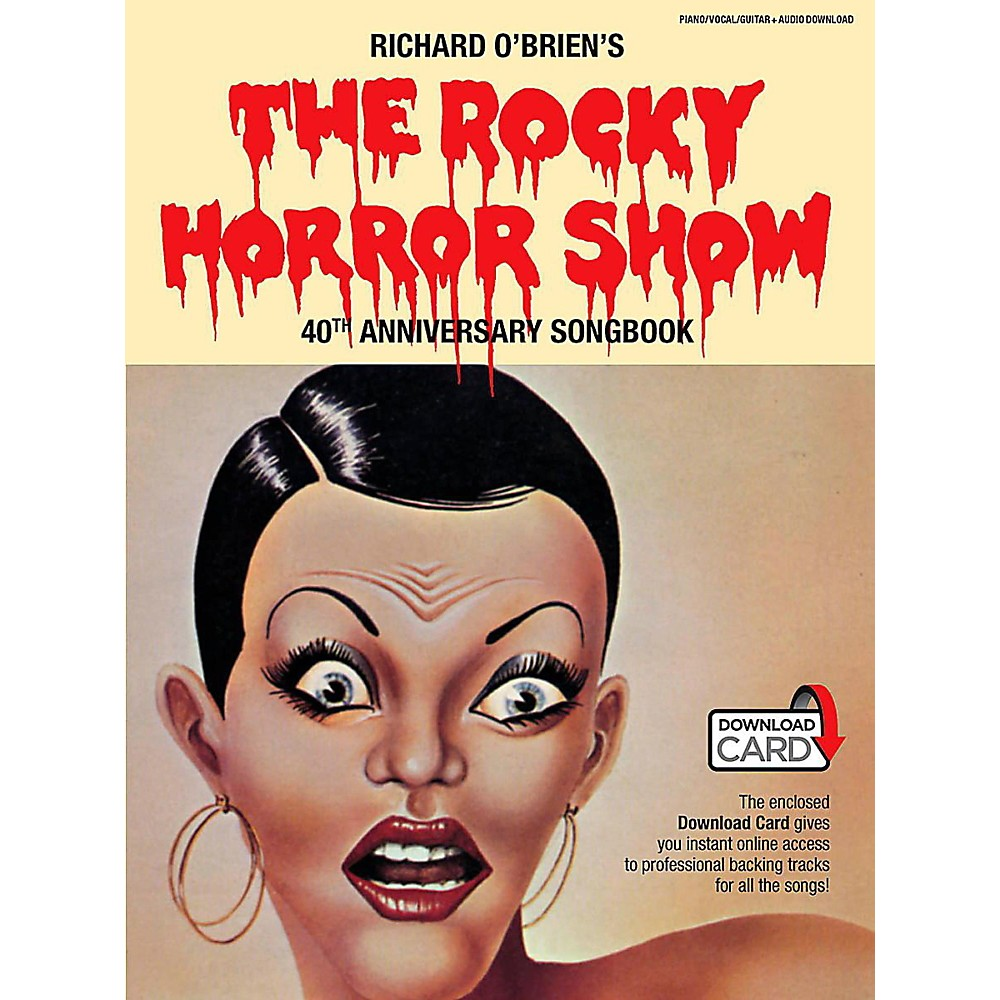 Music Sales The Rocky Horror Picture Show 40Th Anniversary Piano/Vocal Selections Book/Online Audio 1401720408589