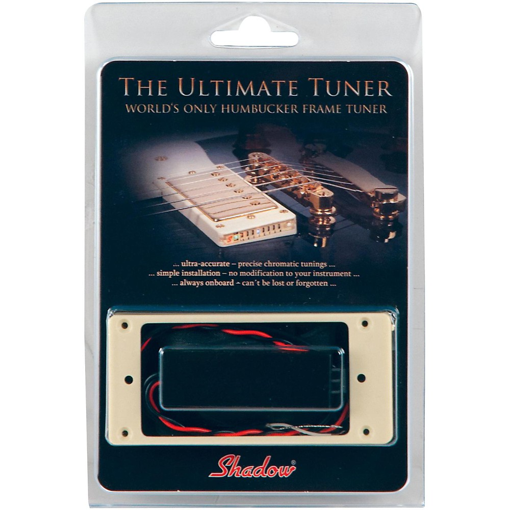 Shadow Humbucker Ring Tuner for Archtop Electric Guitar Cream