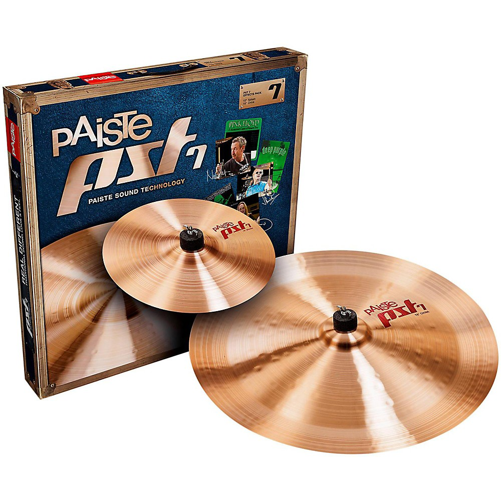 Paiste PST 7 Effects Pack 10 and 18 in. 1405348758038