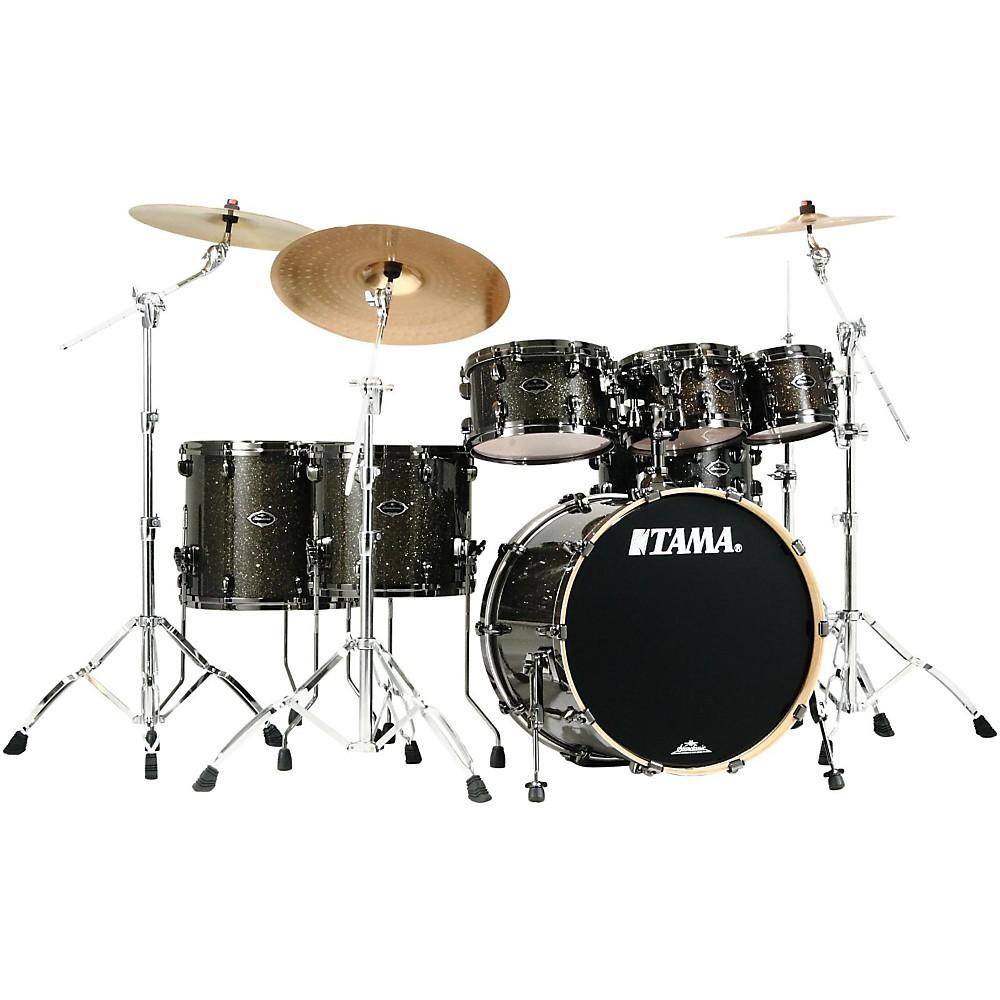 Tama Starclassic Performer B/B EFX Limited Edition 6-Piece Shell Pack Black Gold Glitter 1405954928653