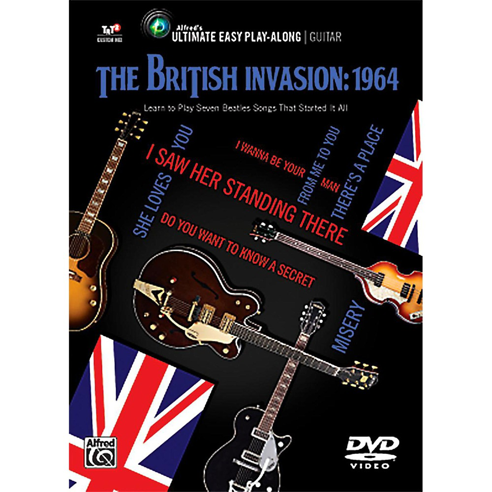 Alfred The British Invasion 1964 - Ultimate Easy Guitar Play-Along DVD 1416325124037