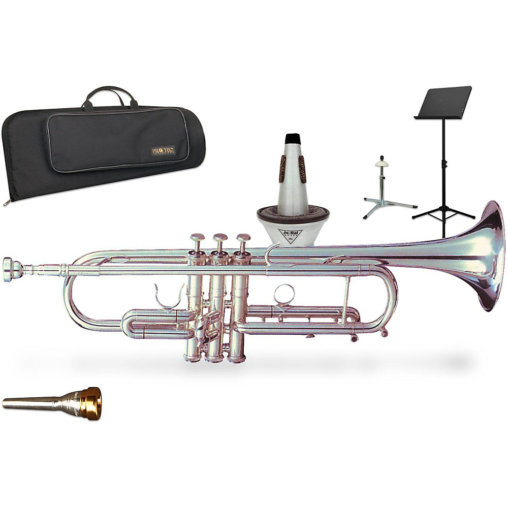 Getzen 900S Eterna Series Bb Trumpet Gift Kit 1416325127425