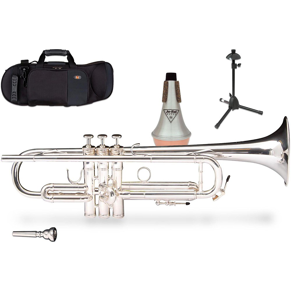 Kanstul 1001 Series Bb Trumpet Gift Kit 1416325127465