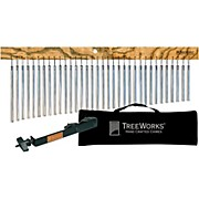 Treeworks Tre35 Aluminum Classic Chimes with Soft Bag and Free Mount