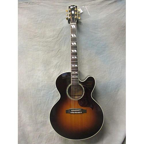 Gibson J185CE Acoustic Electric Guitar Vintage Sunburst
