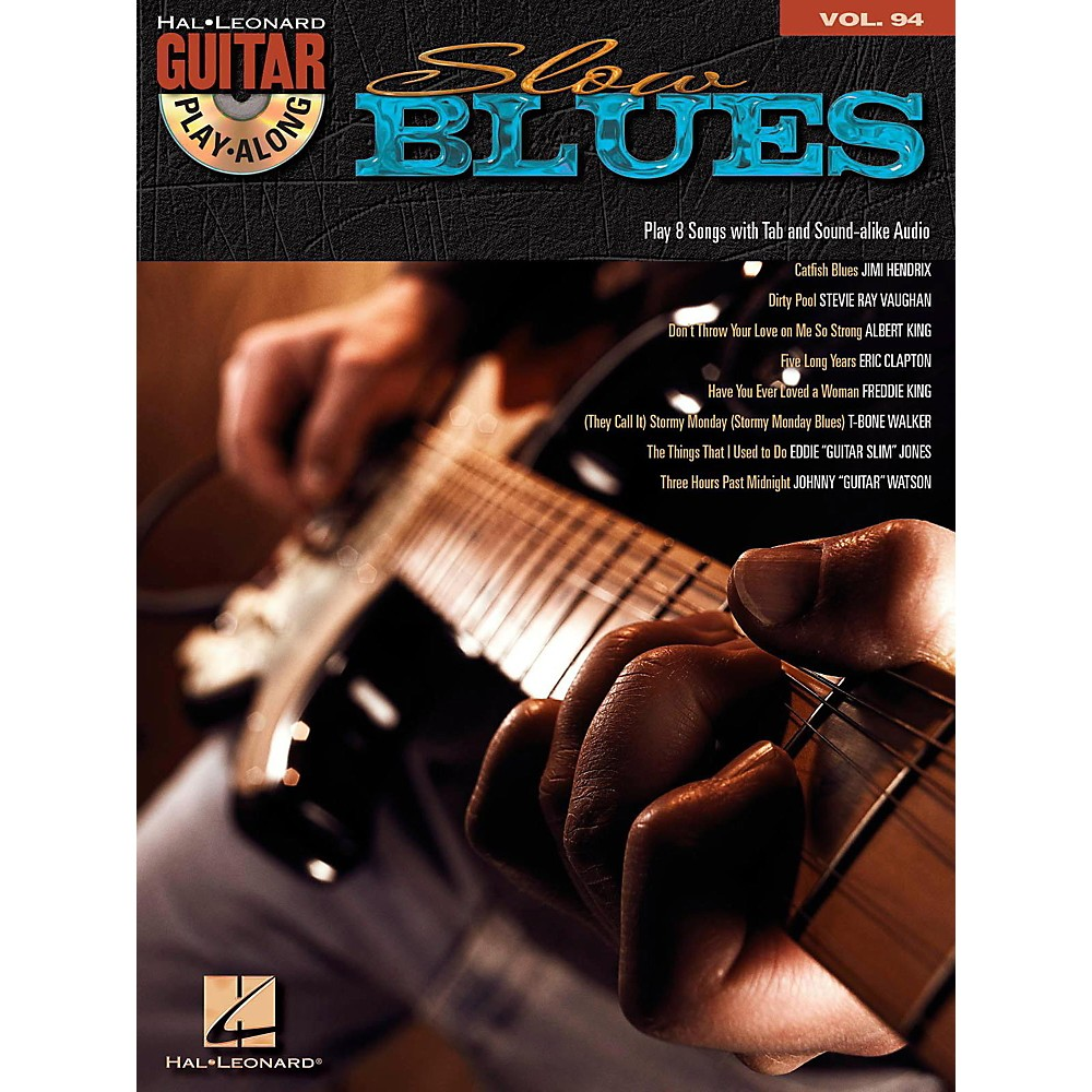 Hal Leonard Slow Blues - Guitar Play-Along Volume 94 (Book/CD) 1418053838595