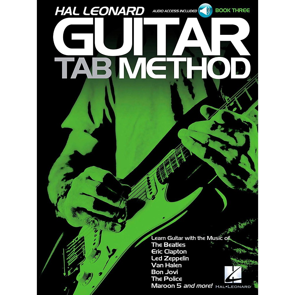 Hal Leonard Guitar Tab Method Book 3 Book/Audio Online 1418053838648